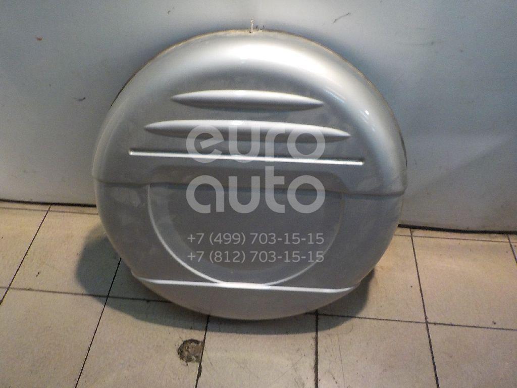 Чехол запасного колеса для Mitsubishi Pajero/Montero III (V6, V7) 2000-2006 - Фото №1