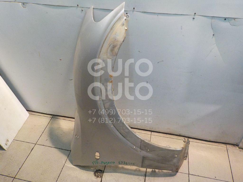Крыло переднее правое для Mitsubishi Pajero/Montero III (V6, V7) 2000-2006 - Фото №1