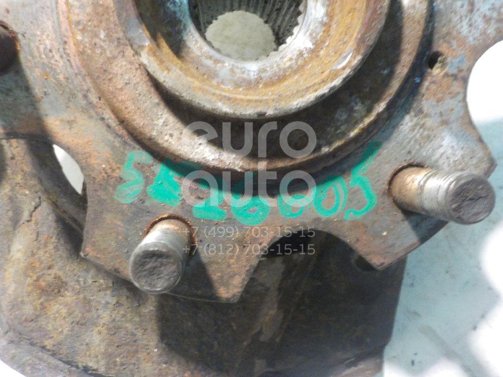 Кулак поворотный передний левый для Mitsubishi Pajero/Montero (V6, V7) 2000-2006 - Фото №1