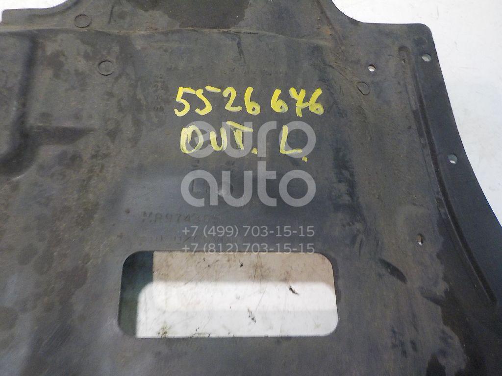 Пыльник двигателя боковой левый для Mitsubishi Outlander (CU) 2001-2008 - Фото №1