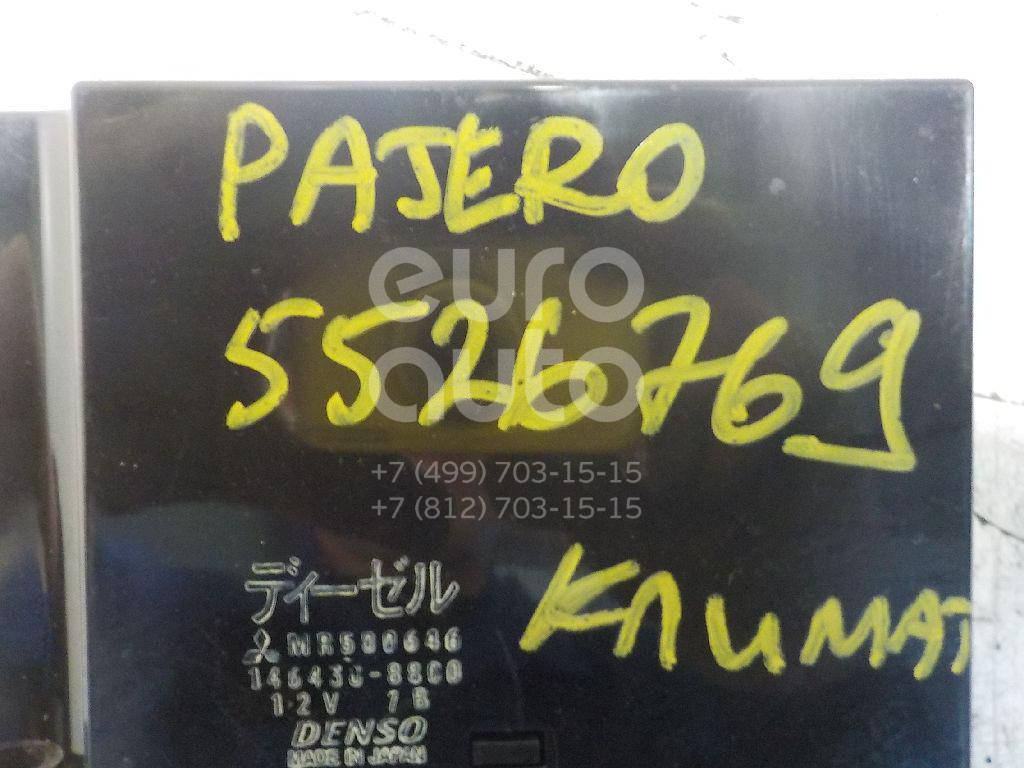 Блок управления климатической установкой для Mitsubishi Pajero/Montero III (V6, V7) 2000-2006 - Фото №1