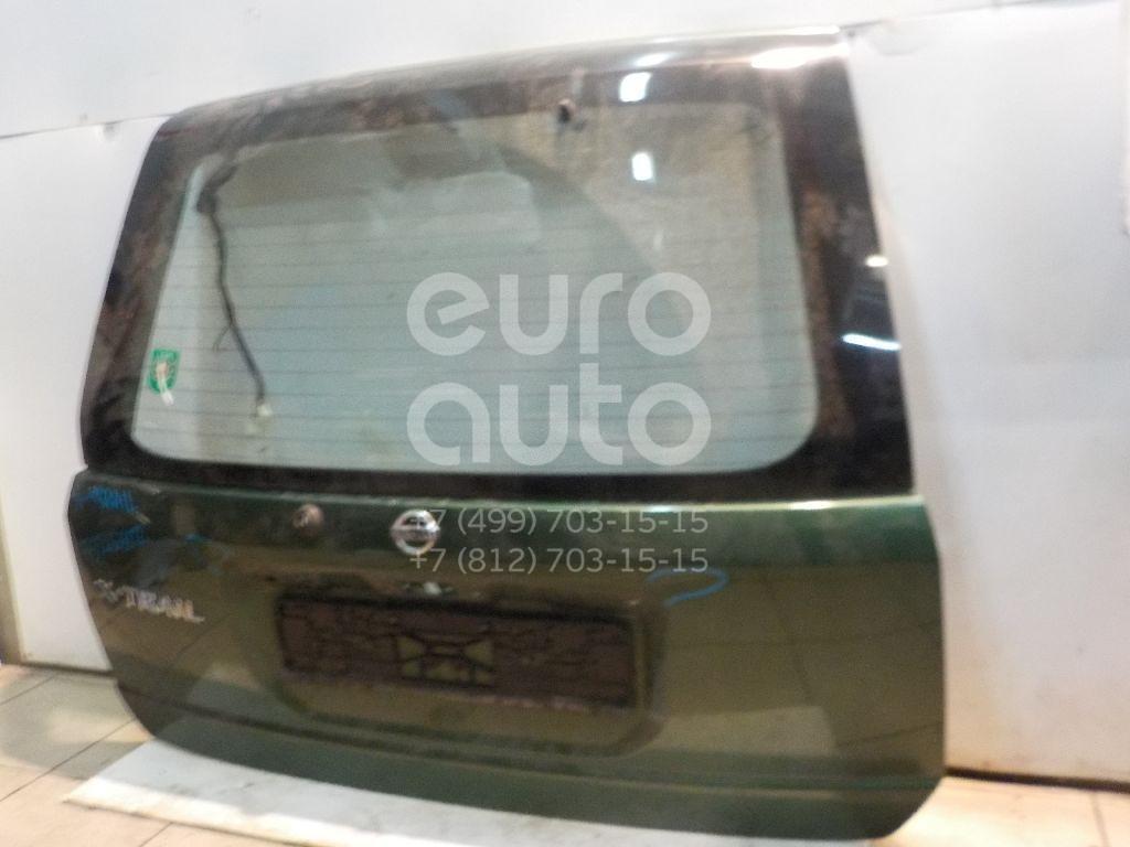 Дверь багажника со стеклом для Nissan X-Trail (T30) 2001-2006 - Фото №1