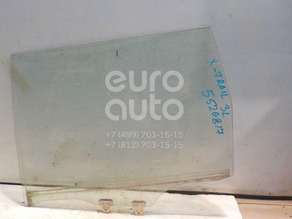 Стекло двери задней левой для Nissan X-Trail (T30) 2001-2006 - Фото №1