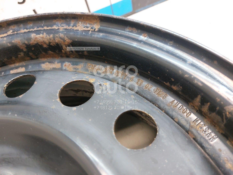 Диск запасного колеса (докатка) для Nissan X-Trail (T30) 2001-2006 - Фото №1