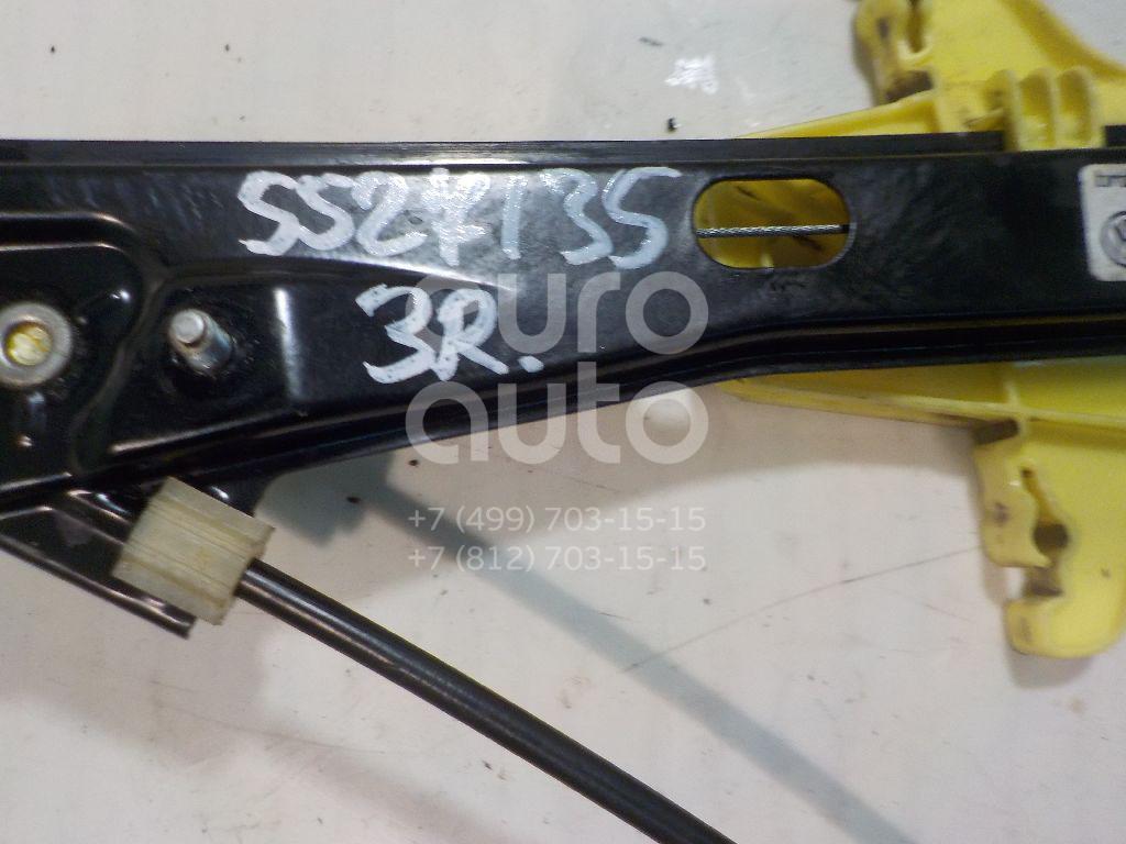 Стеклоподъемник электр. задний правый для VW Polo (Sed RUS) 2011> - Фото №1