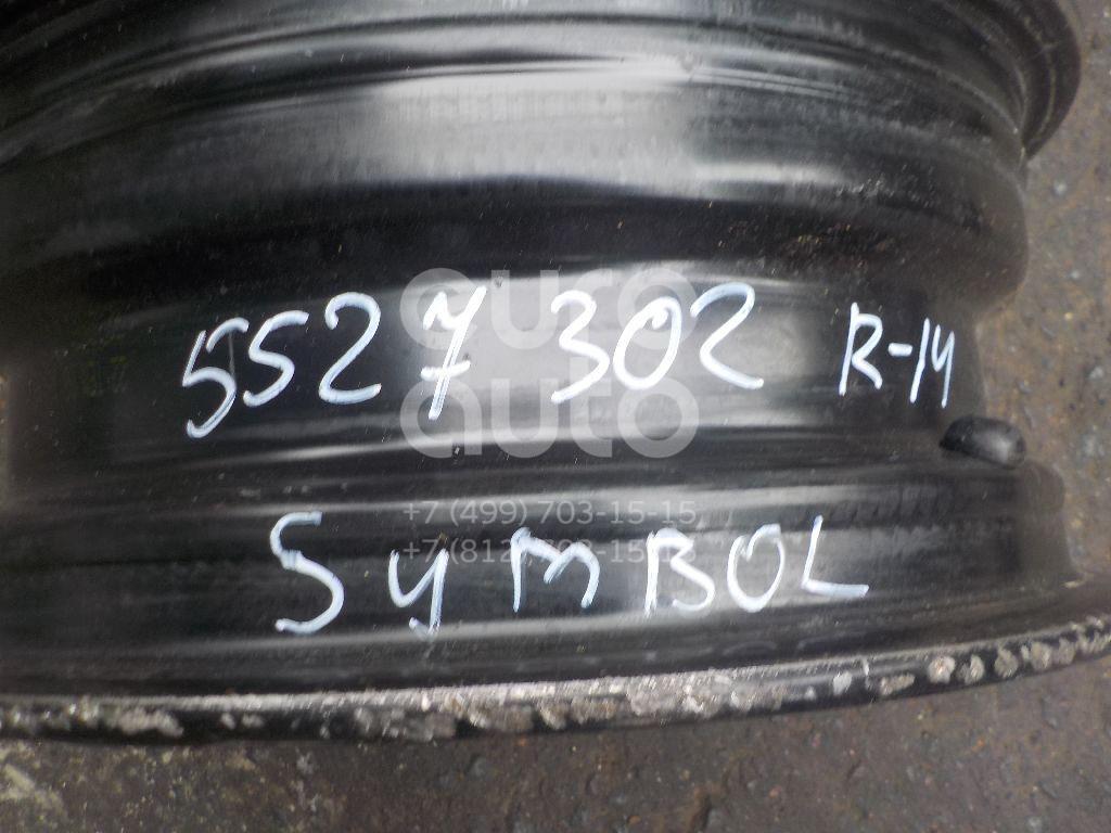 Диск колесный железо для Renault Symbol II 2008-2012 - Фото №1