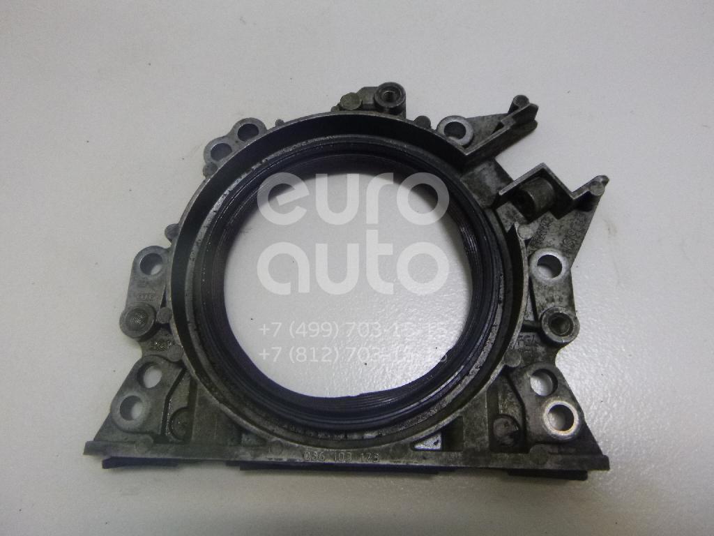 Крышка коленвала задняя для VW,Audi Polo (Sed RUS) 2011>;A3 [8PA] Sportback 2004-2013;Golf V 2003-2009;A3 [8P1] 2003-2013;Jetta 2006-2011 - Фото №1
