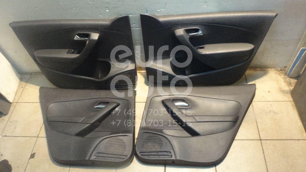 К-кт обшивки двери для VW Polo (Sed RUS) 2011> - Фото №1