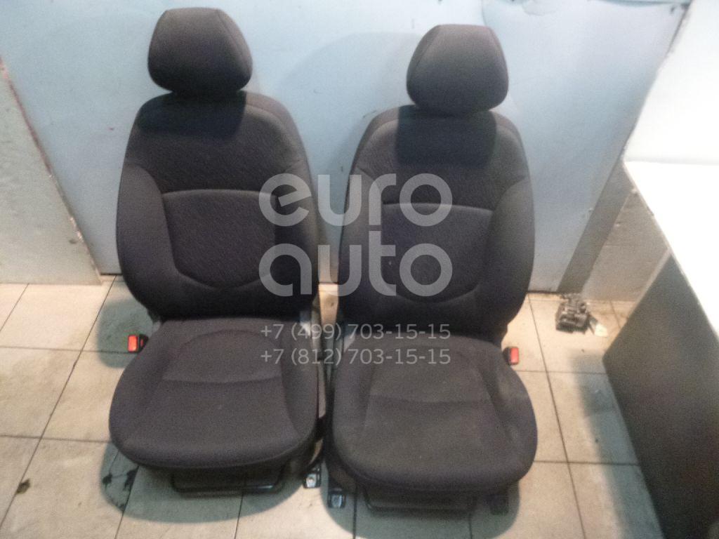 К-кт сидений для Hyundai Solaris/Accent IV 2010> - Фото №1