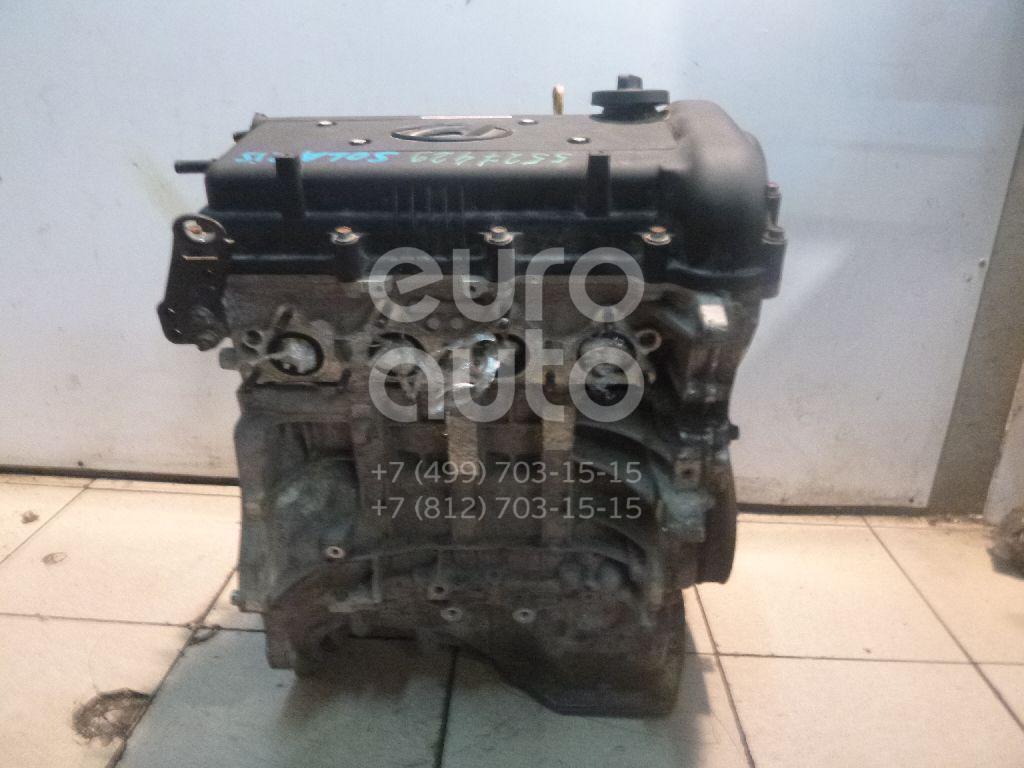Двигатель для Hyundai,Kia Solaris/Accent IV 2010>;RIO 2011> - Фото №1