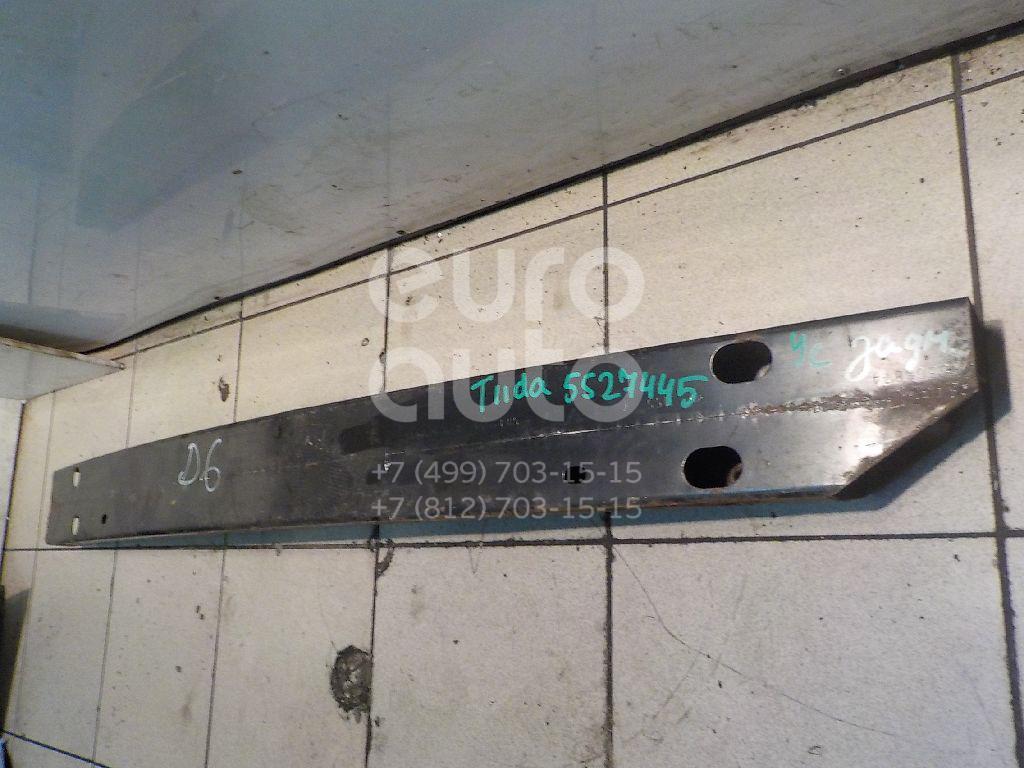 Усилитель заднего бампера для Nissan Tiida (C11) 2007-2014 - Фото №1