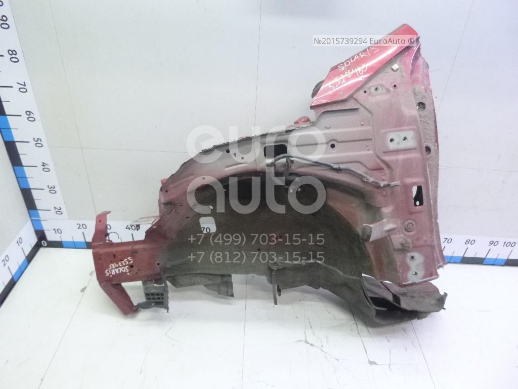 Лонжерон передний левый для Hyundai Solaris/Accent IV 2010> - Фото №1