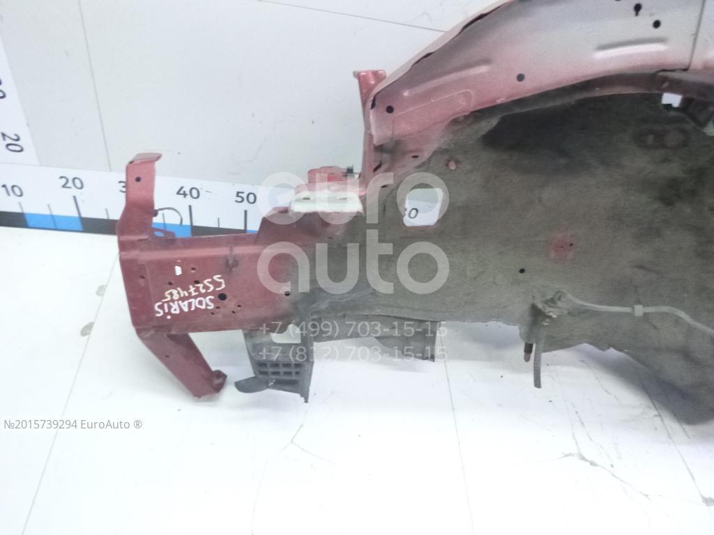 Лонжерон передний левый для Hyundai Solaris 2010-2017 - Фото №1