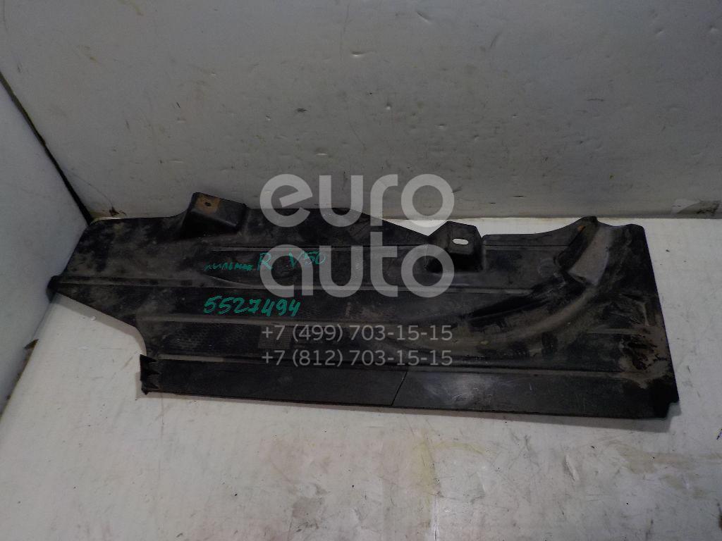 Пыльник двигателя боковой правый для Volvo V50 2004-2012 - Фото №1