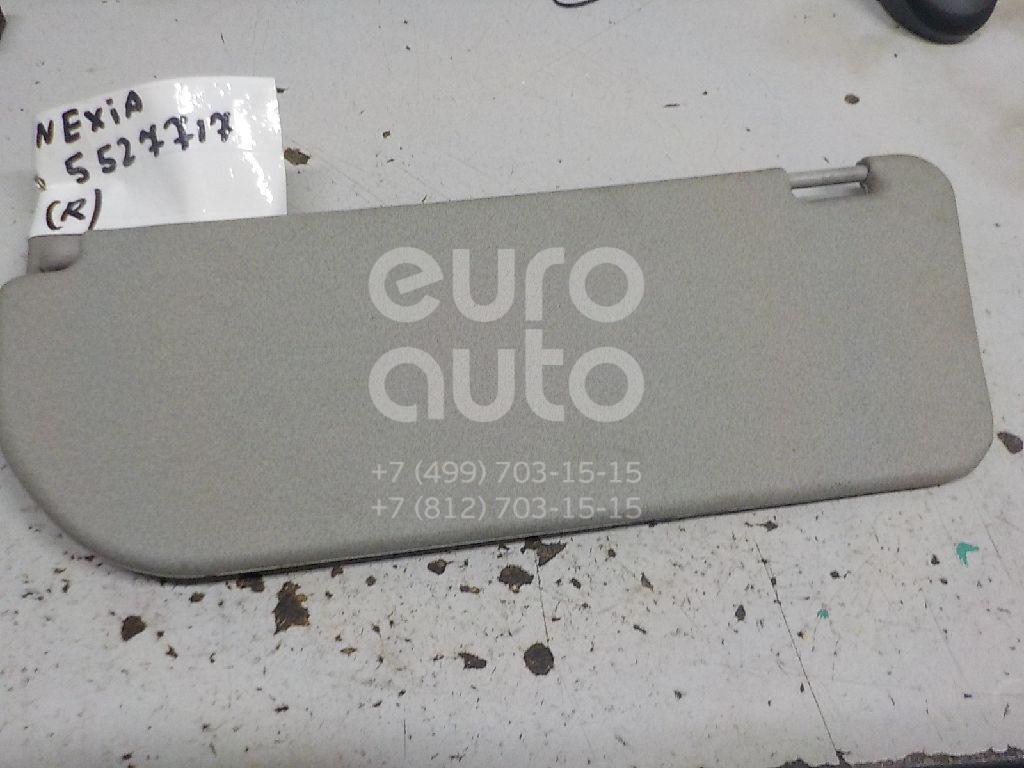 Козырек солнцезащитный (внутри) для Daewoo Nexia 1995-2016 - Фото №1