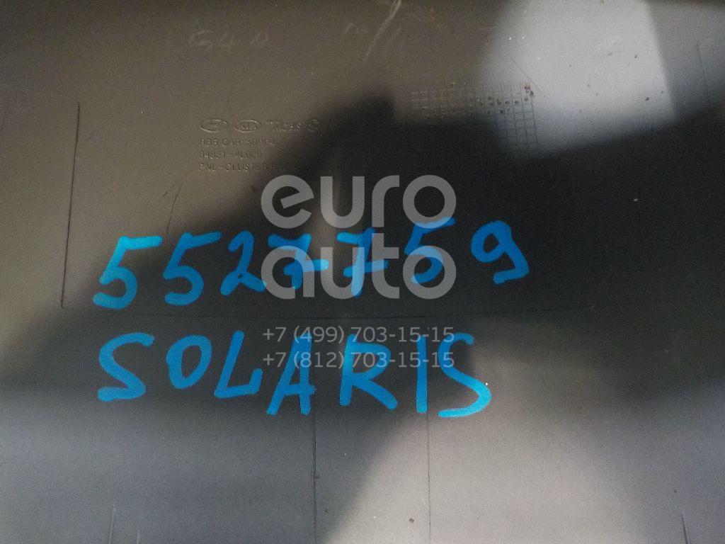 Накладка декоративная для Hyundai Solaris/Accent IV 2010> - Фото №1