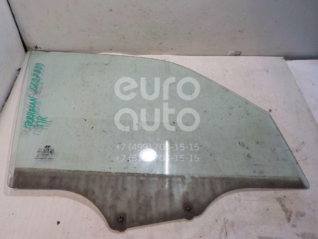 Стекло двери передней правой для Hyundai Terracan 2001-2007 - Фото №1