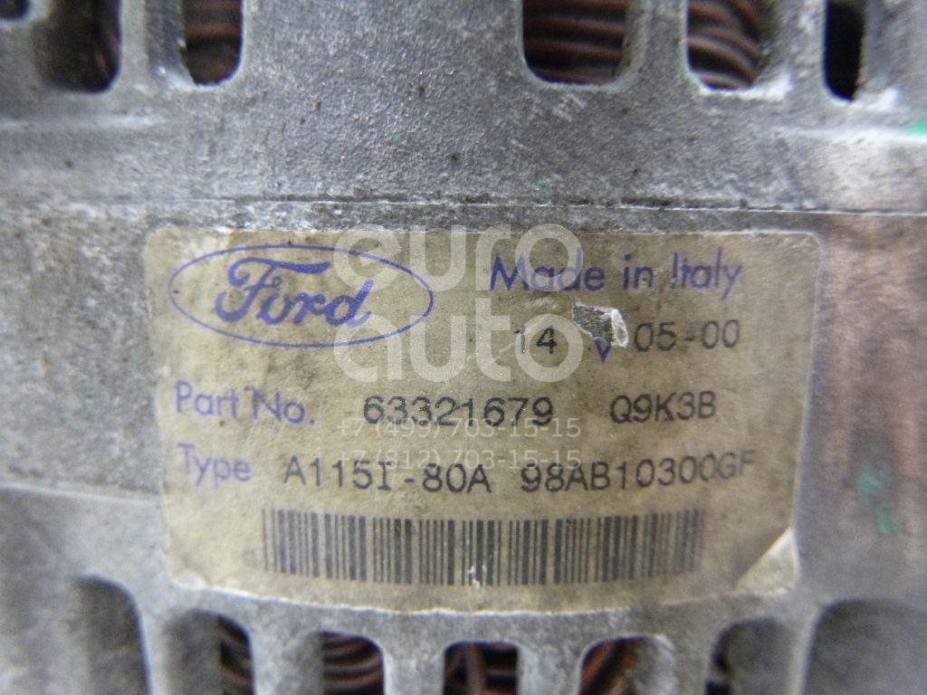 Генератор для Ford Focus I 1998-2005;Focus II 2005-2008;Fusion 2002-2012;C-MAX 2003-2010;Fiesta 2001-2008;S-MAX 2006-2015;Focus II 2008-2011 - Фото №1