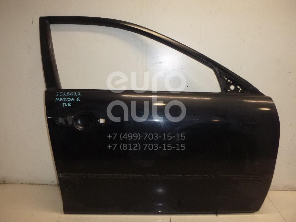 Дверь передняя правая для Mazda Mazda 6 (GG) 2002-2007 - Фото №1