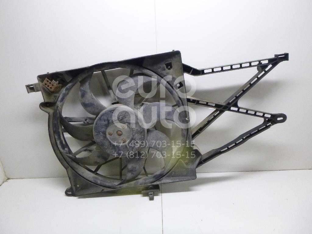 Вентилятор радиатора для Opel Astra G 1998-2005;Zafira (F75) 1999-2005 - Фото №1