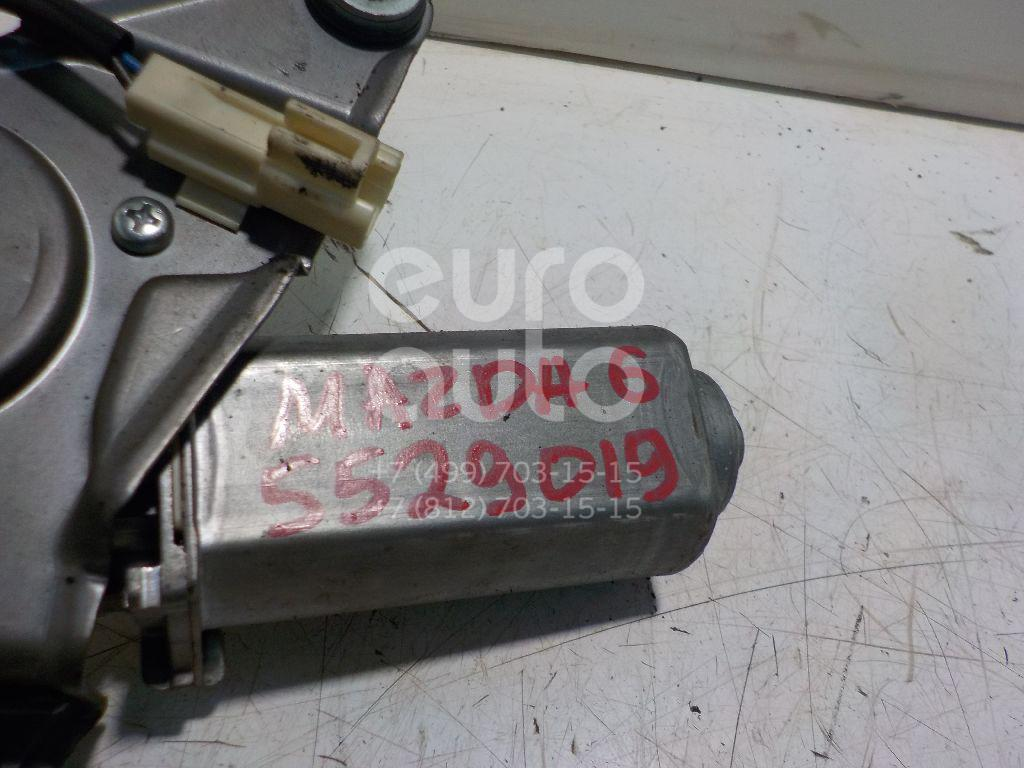 Моторчик стеклоочистителя задний для Mazda Mazda 6 (GG) 2002-2007 - Фото №1