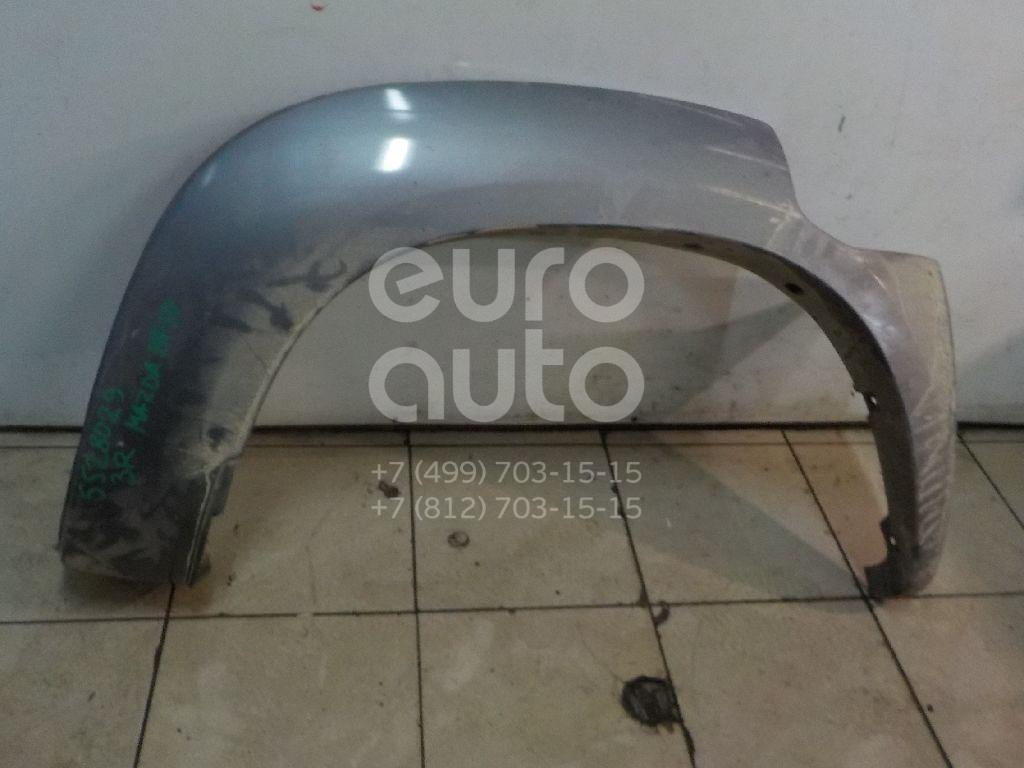 Накладка заднего крыла правого для Mazda BT-50 2006-2012 - Фото №1