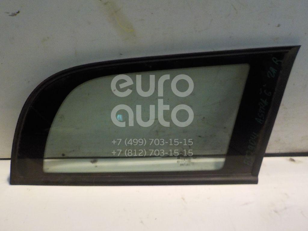 Стекло кузовное глухое правое для Opel Astra G 1998-2005 - Фото №1