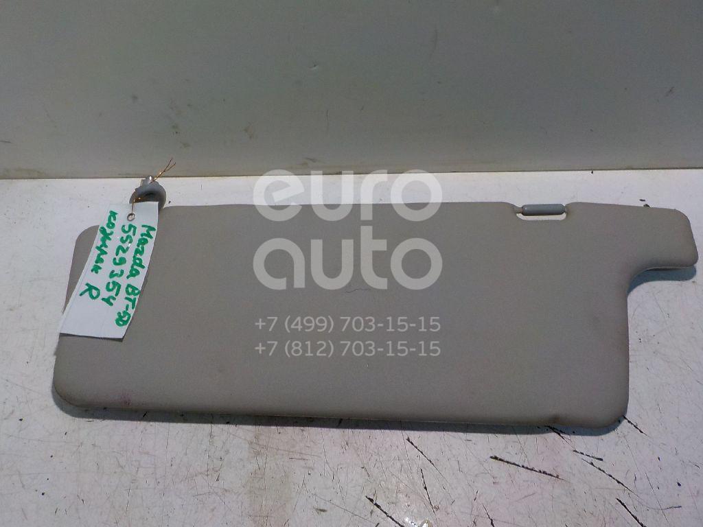 Козырек солнцезащитный (внутри) для Mazda BT-50 2006-2012 - Фото №1