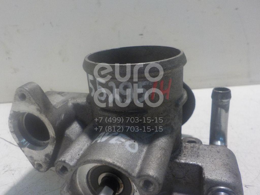Заслонка дроссельная механическая для Chevrolet Aveo (T250) 2005-2011 - Фото №1