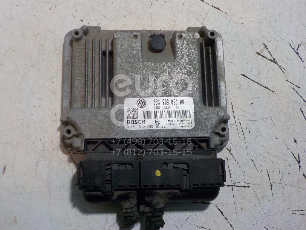 Блок управления двигателем для VW Caddy III 2004-2015 - Фото №1