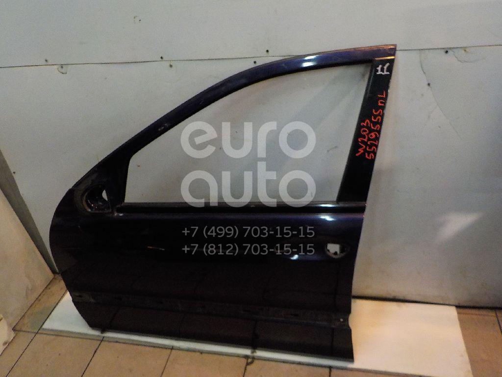 Дверь передняя левая для Mercedes Benz W203 2000-2006 - Фото №1