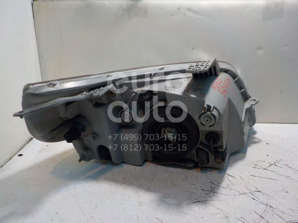 Фара левая для Chevrolet Aveo (T250) 2005-2011 - Фото №1