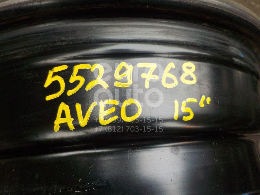 Диск колесный железо для Chevrolet Aveo (T250) 2005-2011;Aveo (T200) 2003-2008 - Фото №1