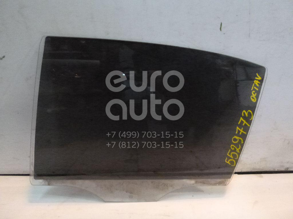 Стекло двери задней левой для Skoda Octavia (A5 1Z-) 2004-2013 - Фото №1
