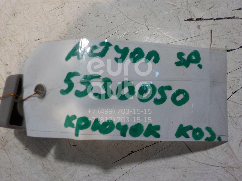 Крючок солнцезащитного козырька для Ssang Yong Actyon Sport 2006-2012;Kyron 2005>;Actyon 2005-2012 - Фото №1
