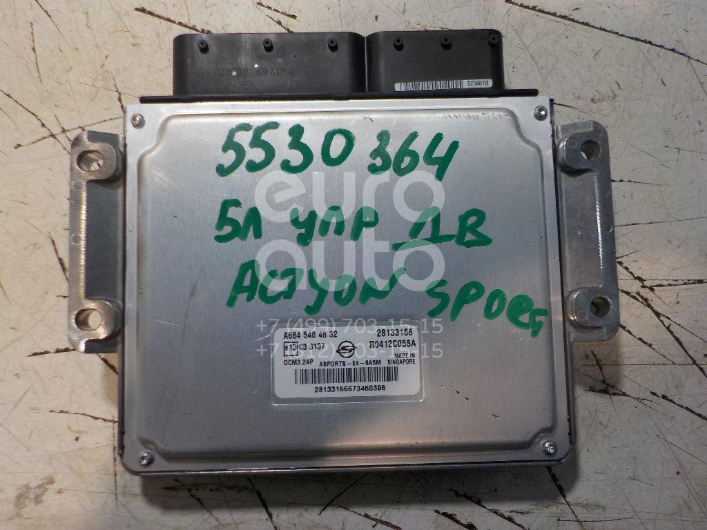 Блок управления двигателем для Ssang Yong Actyon Sport 2006-2012 - Фото №1
