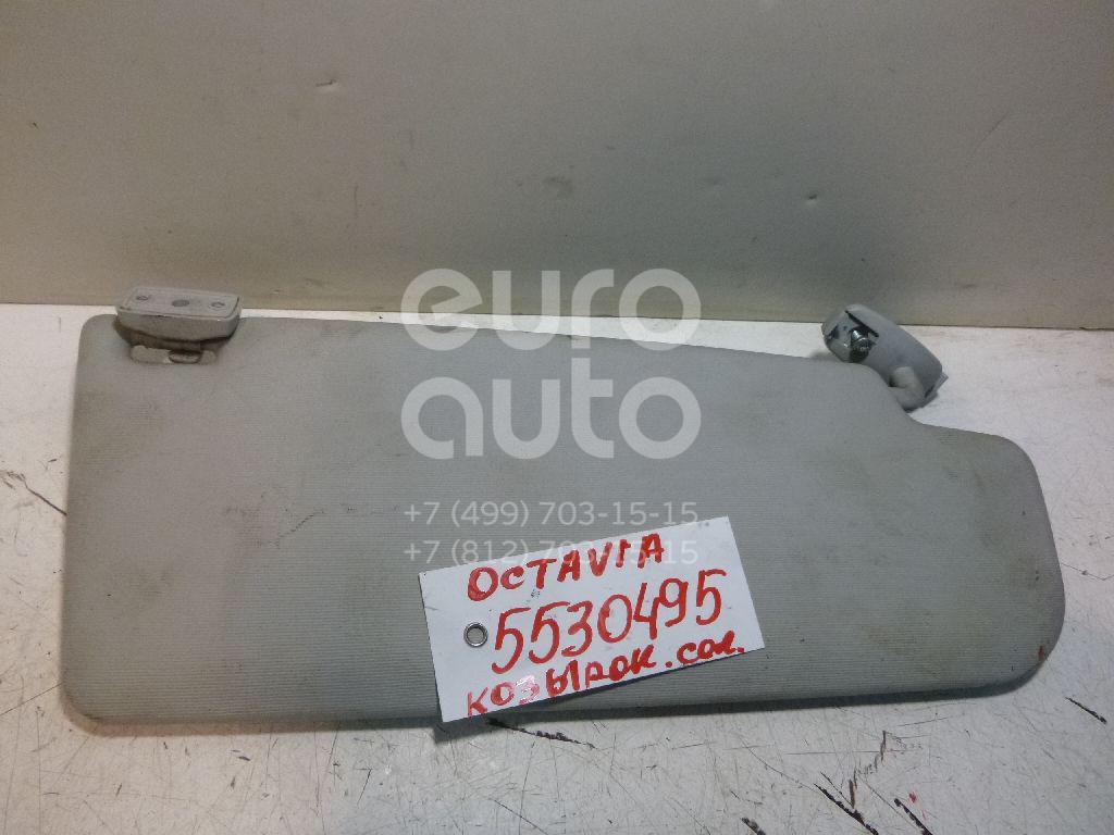 Козырек солнцезащитный (внутри) для Skoda Octavia (A5 1Z-) 2004-2013 - Фото №1