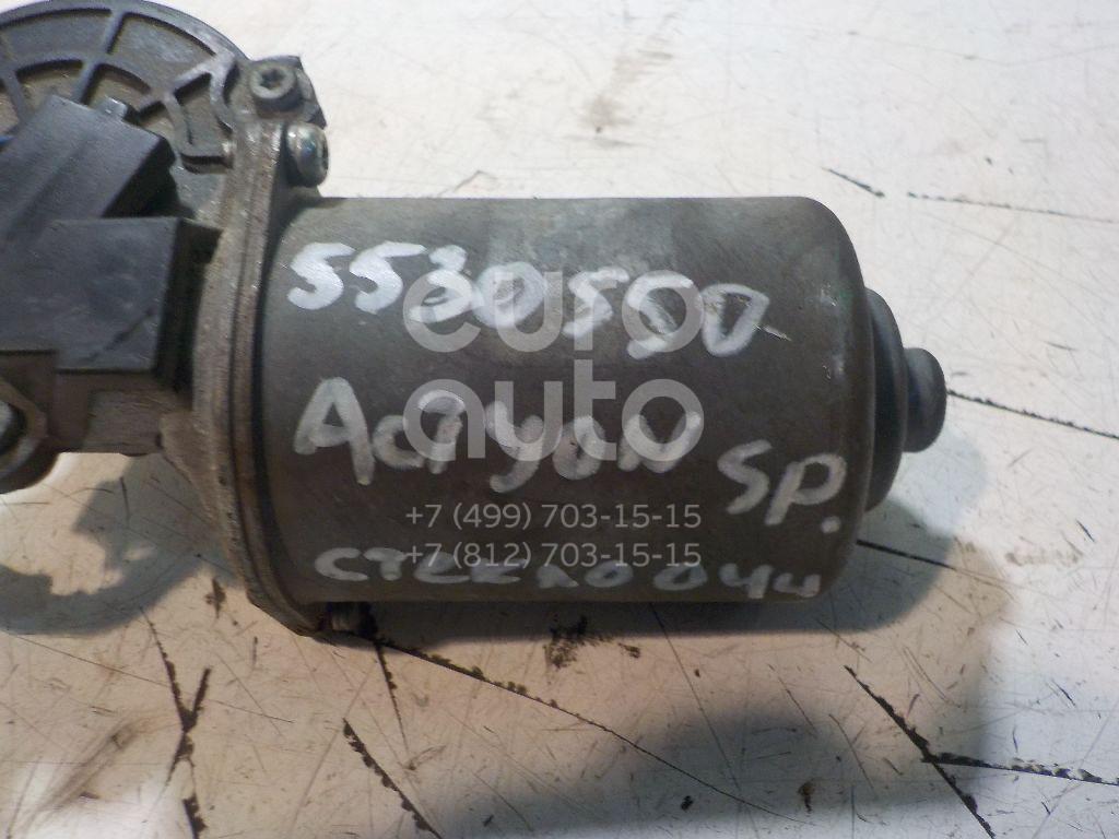 Моторчик стеклоочистителя передний для Ssang Yong Actyon Sport 2006-2012;Kyron 2005-2015;Actyon 2005-2012;Actyon Sport 2012> - Фото №1
