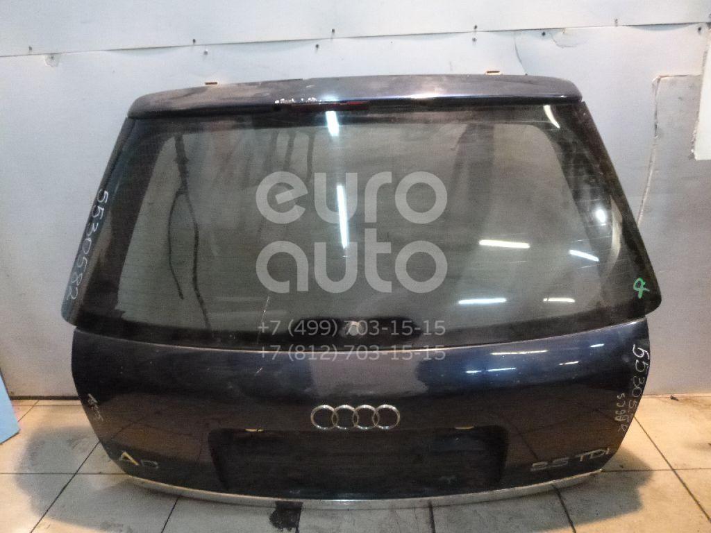 Дверь багажника со стеклом для Audi A6 [C5] 1997-2004 - Фото №1
