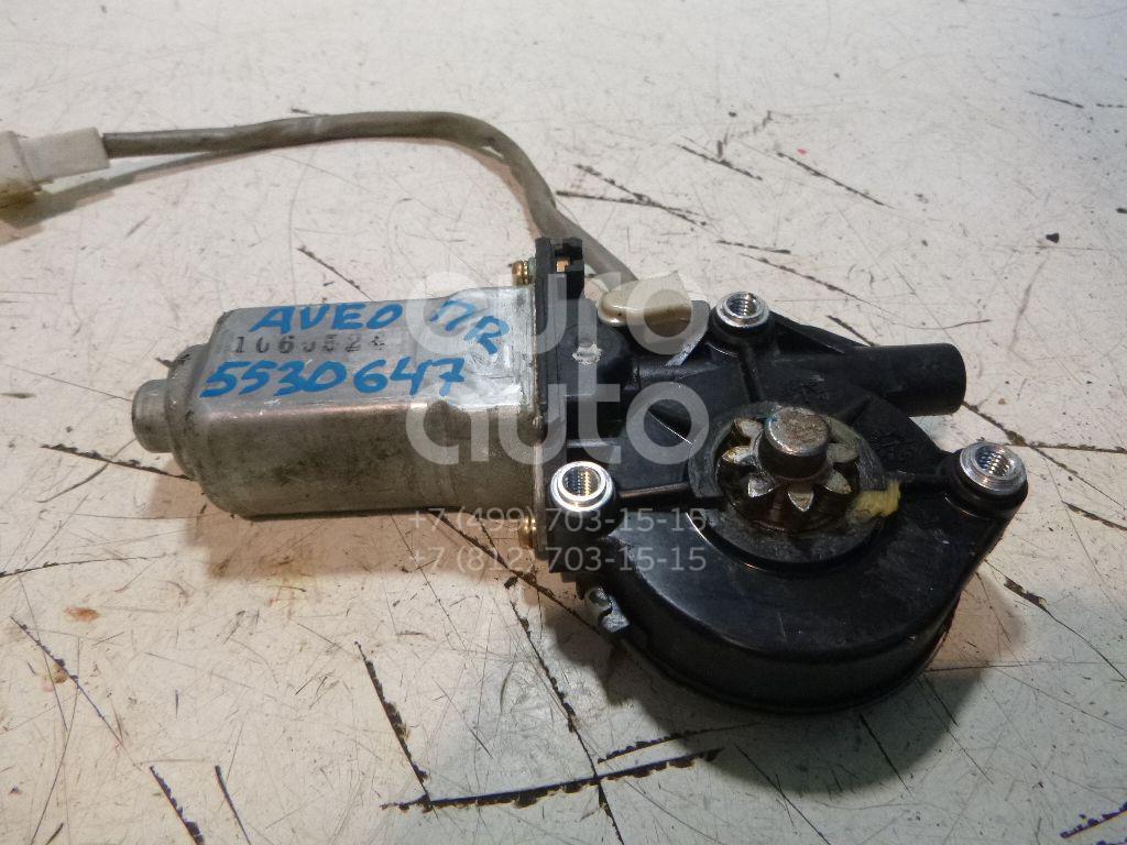 Моторчик стеклоподъемника для Chevrolet Aveo (T250) 2005-2011 - Фото №1
