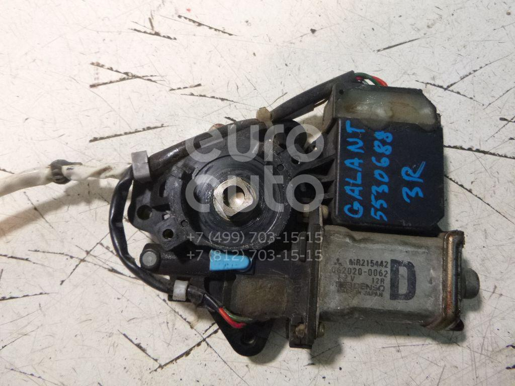Моторчик стеклоподъемника для Mitsubishi Galant (EA) 1997-2003 - Фото №1