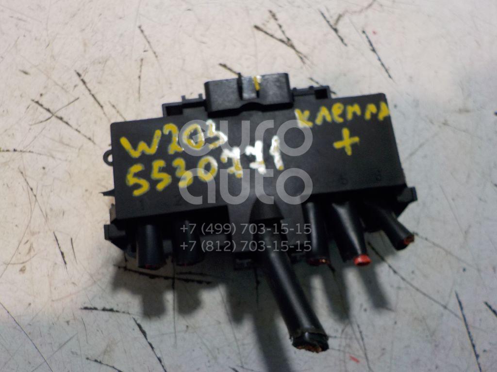 Клемма аккумулятора плюс для Mercedes Benz W203 2000-2006;C209 CLK coupe 2002-2010;R171 SLK 2004-2011 - Фото №1