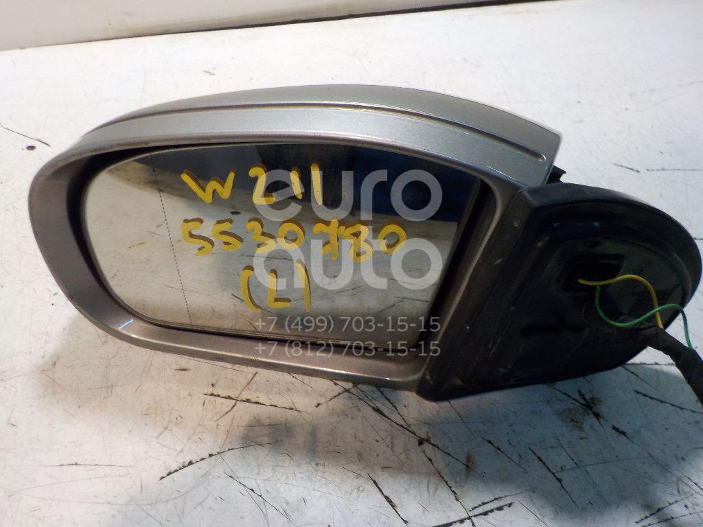 Зеркало левое электрическое для Mercedes Benz W211 E-Klasse 2002-2009 - Фото №1