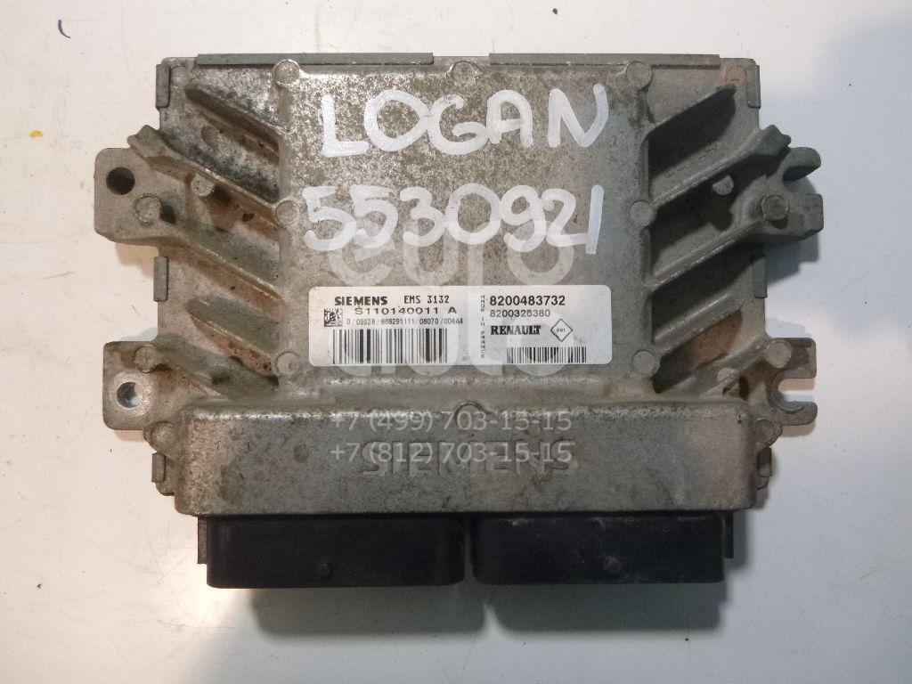 Блок управления двигателем для Renault Logan 2005-2014;Sandero 2009-2014 - Фото №1