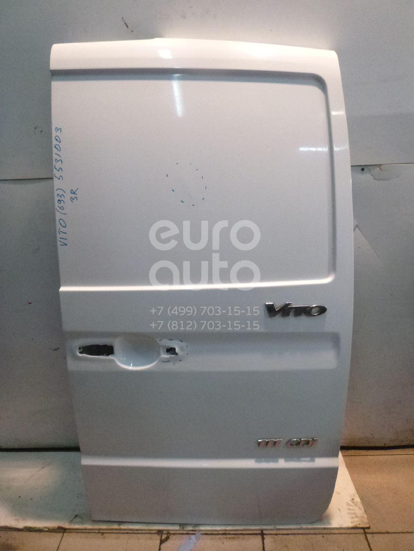 Дверь багажника правая для Mercedes Benz Vito/Viano-(639) 2003> - Фото №1