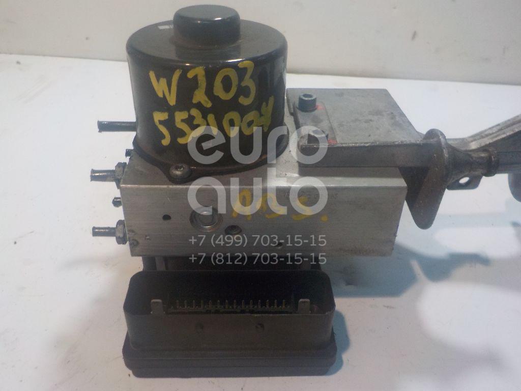 Блок ABS (насос) для Mercedes Benz W203 2000-2006;C209 CLK coupe 2002-2010;R171 SLK 2004-2011 - Фото №1