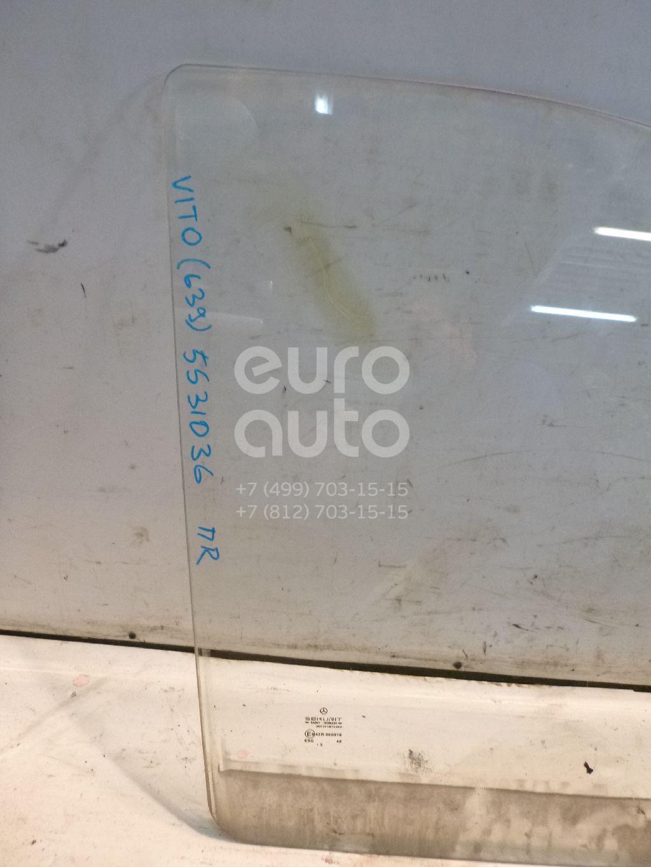 Стекло двери передней правой для Mercedes Benz Vito/Viano-(639) 2003-2014 - Фото №1