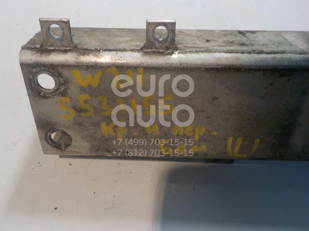 Кронштейн усилителя переднего бампера левый для Mercedes Benz W211 E-Klasse 2002-2009 - Фото №1