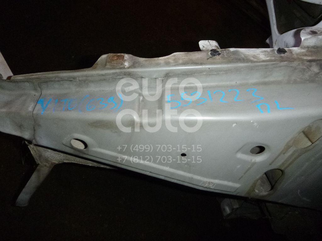 Лонжерон передний левый для Mercedes Benz Vito/Viano-(639) 2003-2014 - Фото №1
