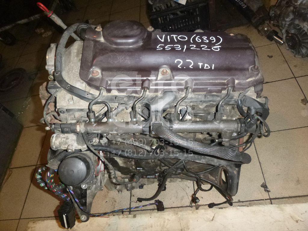 Двигатель для Mercedes Benz Vito/Viano-(639) 2003> - Фото №1